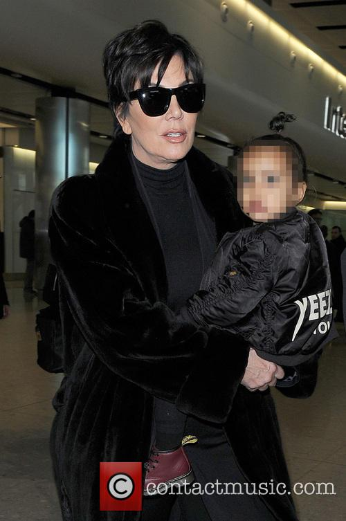 Kris Jenner and North West 8