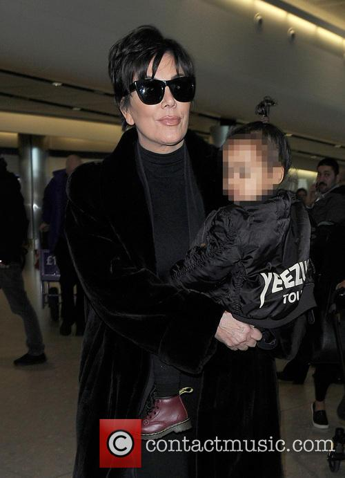 Kris Jenner and North West 11