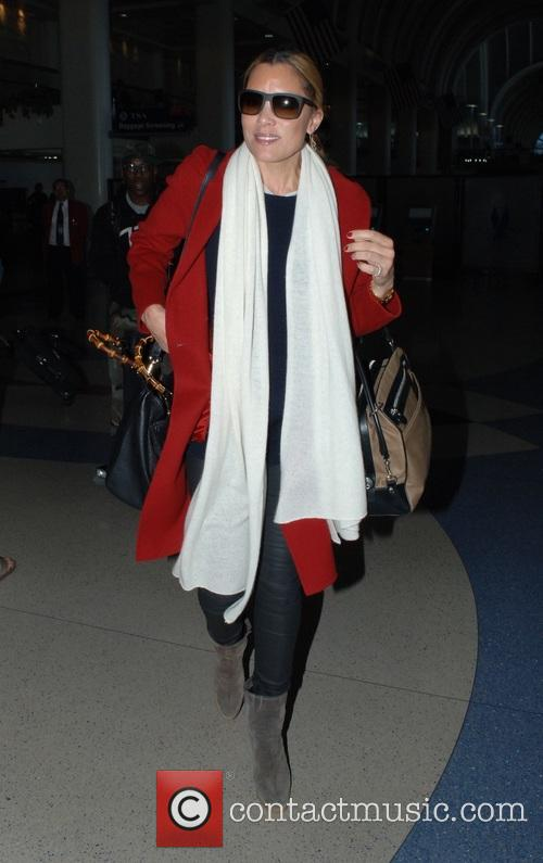 Michael Michele at Los Angeles International Airport (LAX)