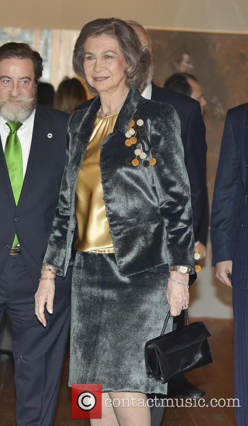 Queen Sofia of Spain attends the Queen Sofia...