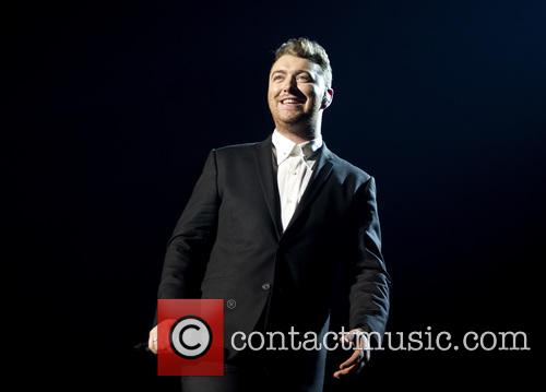 Sam Smith performing at the Heineken Music Hall