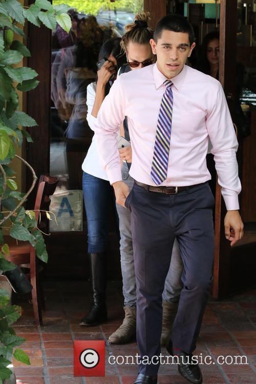 Zoe Saldana and Marco Perego 4