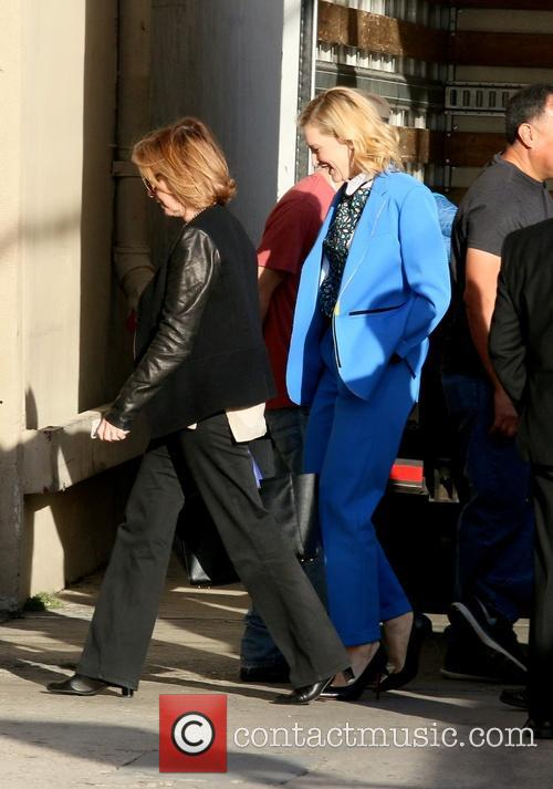 Cate Blanchett arriving at Jimmy Kimmel Live!