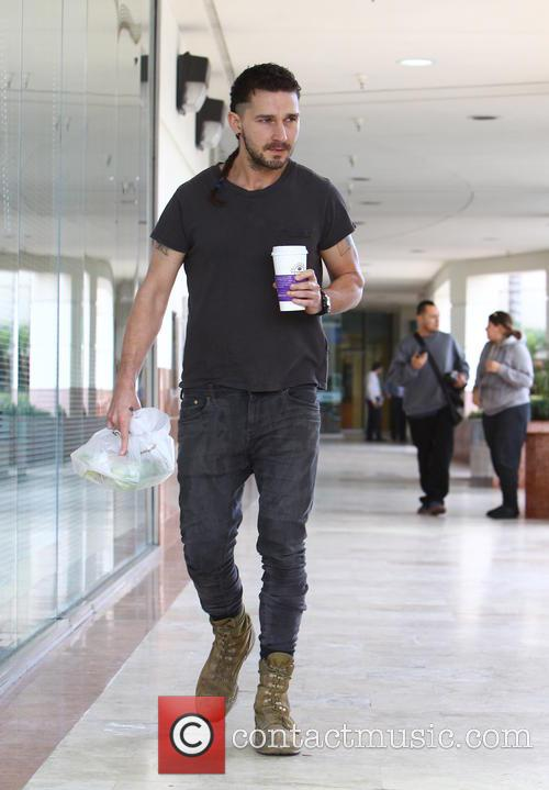 Shia LaBeouf out and about in Studio City