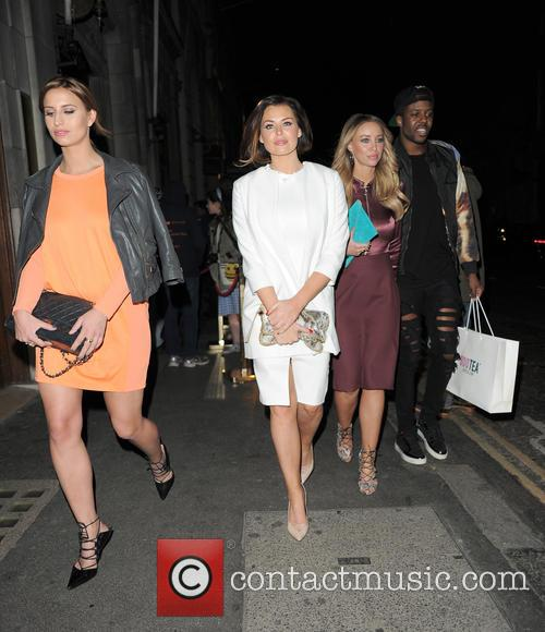 Ferne Mccann, Jessica Wright and Lauren Pope 2