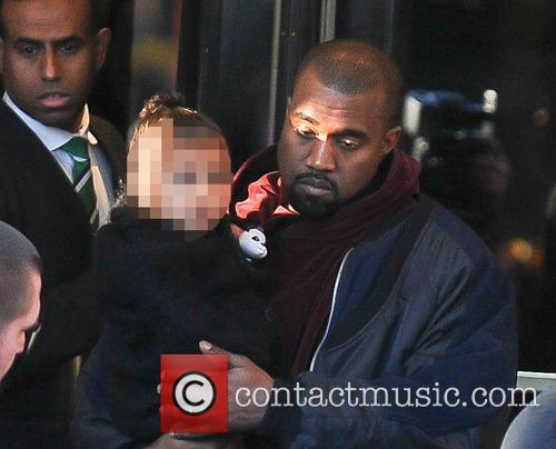 Kanye West and North West 4