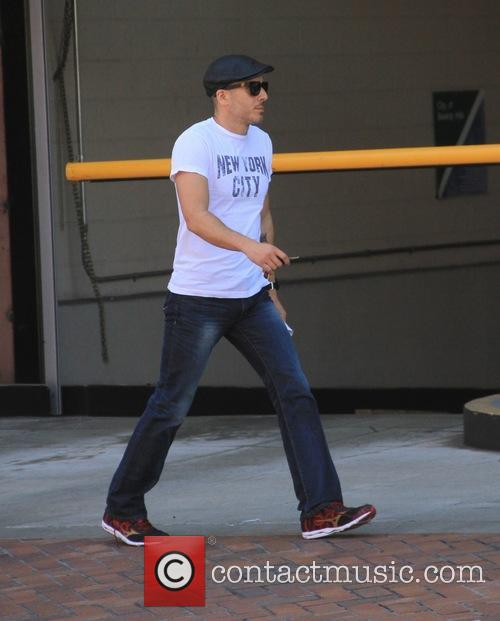 Kirk Acevedo goes shopping at The Grove