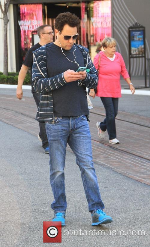 Orny Adams goes shopping at The Grove