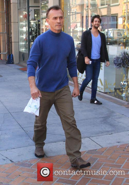 Robert Knepper goes shopping in Beverly Hills