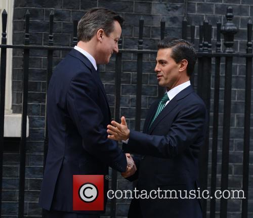 Mexican President, Enrique Peña Nieto and David Cameron 2