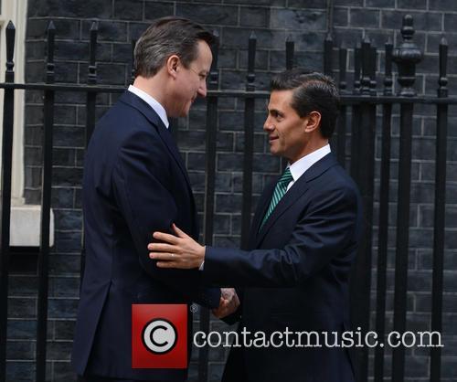 Mexican President, Enrique Peña Nieto and David Cameron 3