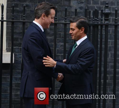 Mexican President, Enrique Peña Nieto and David Cameron 4