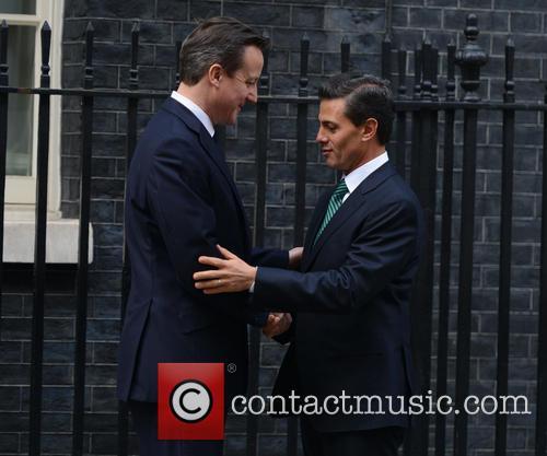 Mexican President, Enrique Peña Nieto and David Cameron 5