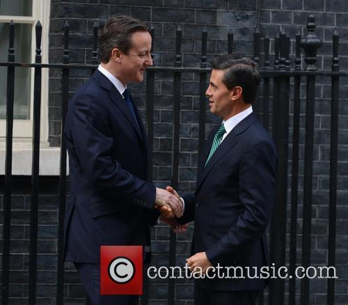 Mexican President, Enrique Peña Nieto and David Cameron 6