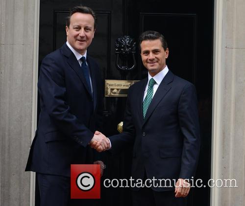 Mexican President, Enrique Peña Nieto and David Cameron 7