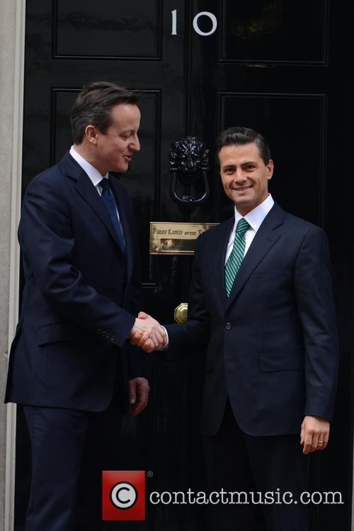 Mexican President, Enrique Peña Nieto and David Cameron 8