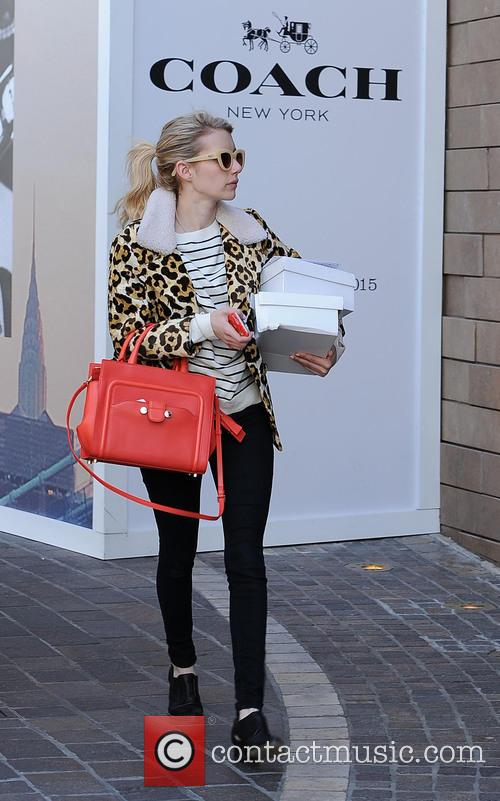 Emma Roberts out shopping at The Grove