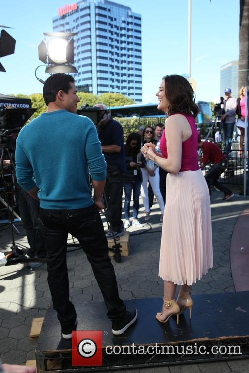 Meghan Boone and Mario Lopez 1
