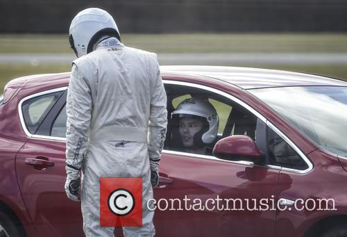 Nicholas Hoult and The Stig 2