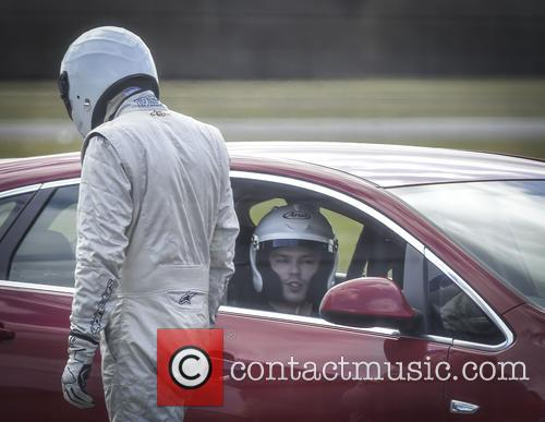 Nicholas Hoult and The Stig 3