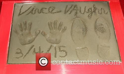 Vince Vaughn Handprints and Footprints Ceremony