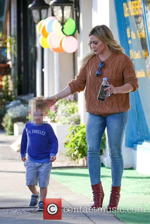 Hilary Duff and Luca Comrie 10
