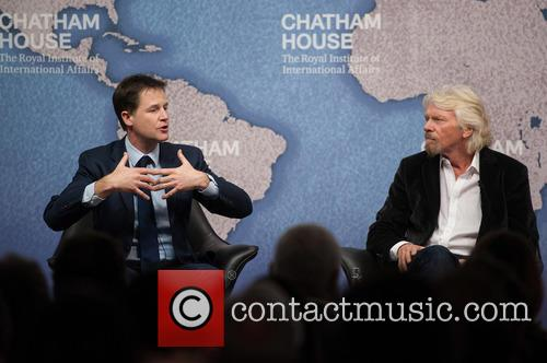 Nick Clegg and Sir Richard Branson 2