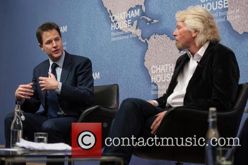 Sir Richard Branson and Nick Clegg 5