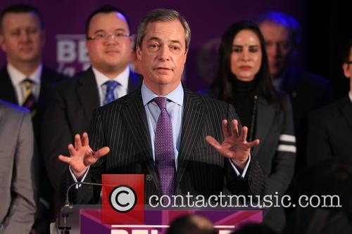 Ukip Leader Nigel Farage Mep 10