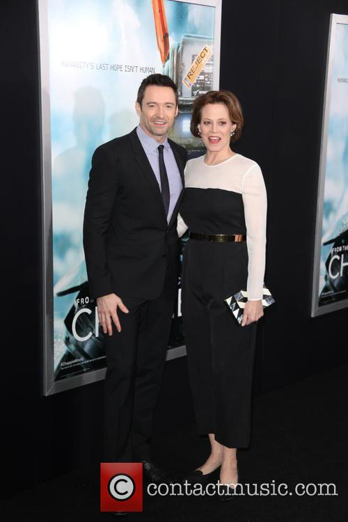 Hugh Jackman and Sigourney Weaver 2