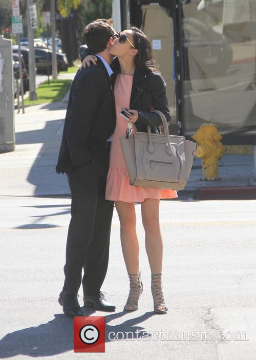 Cara Santana goes to lunch in Hollywood