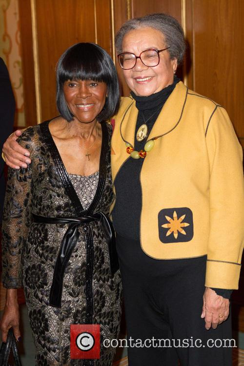 Marian Wright Edelman and Cicely Tyson