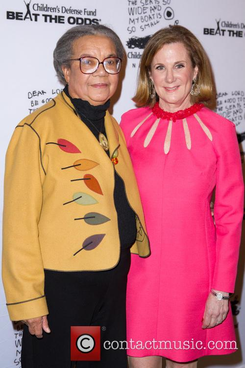 Marian Wright Edelman and Deborah Cogut 1