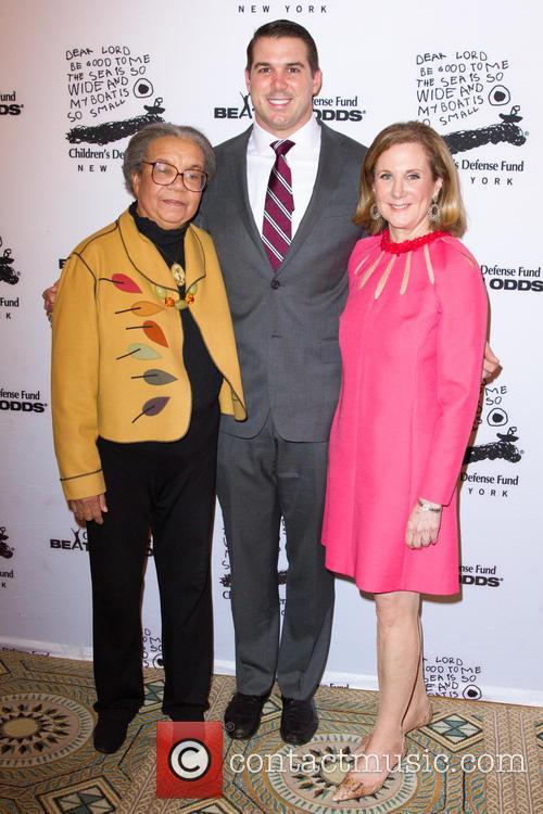 Zak Deossie, Marian Wright Edelman and Deborah Cogut 2