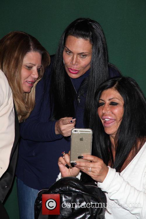 Karen Gravano, Renee Graziano and Angela Raiola 3