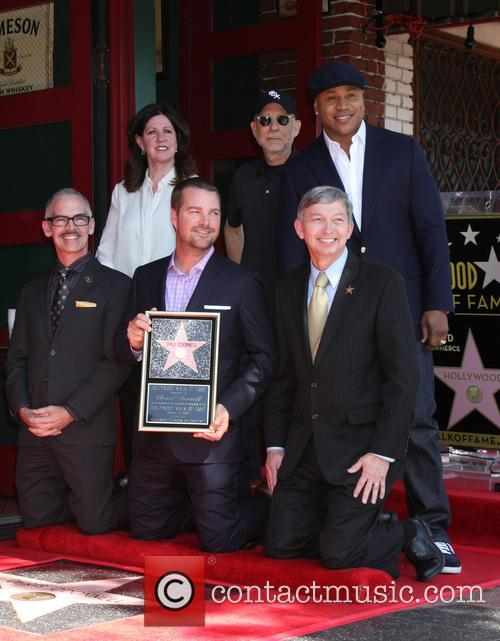 Chamber Official, Mitch O'farrell, Paul Brinkman, Ll Cool J, Chris O'donnell and Leron Gubler 1