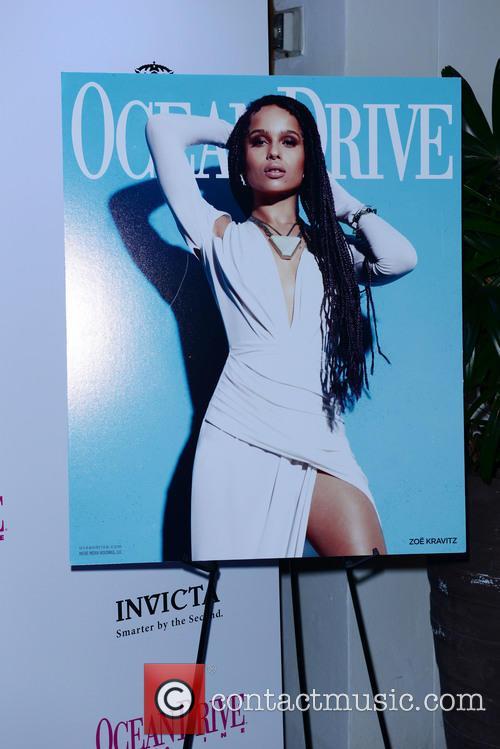 Zoe Kravitz's Ocean Drive Magazine Cover