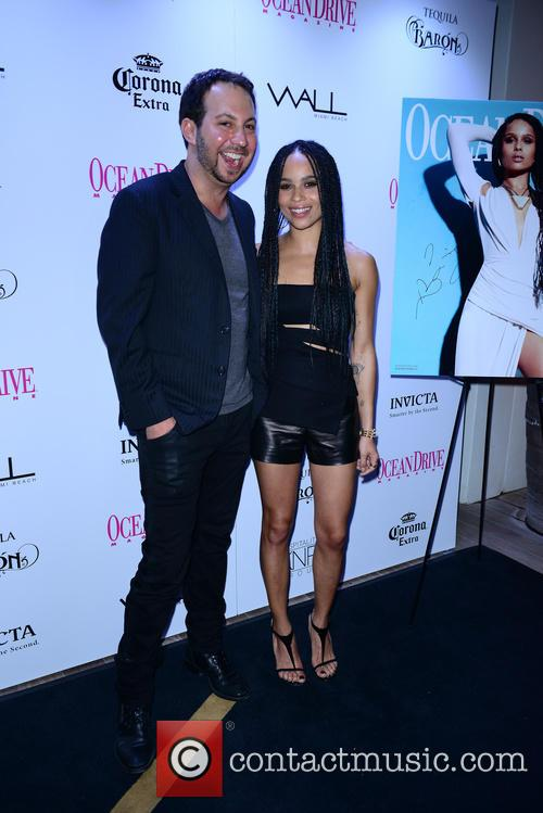 Jared Shapiro and Zoe Kravitz 2