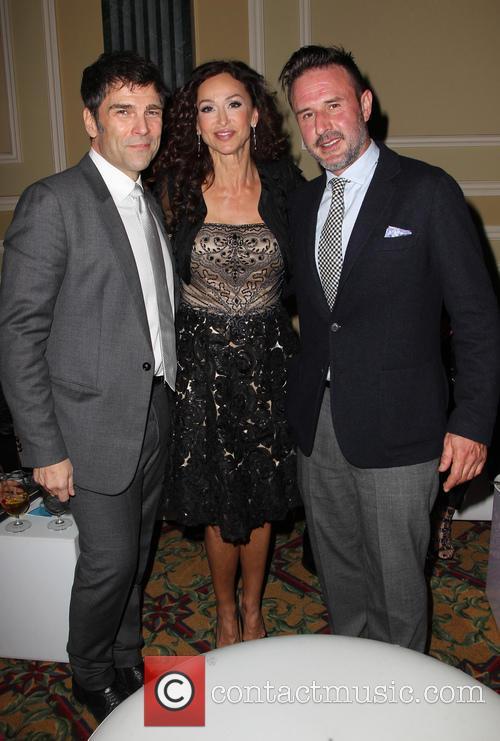 Sofia Milos and David Arquette 4