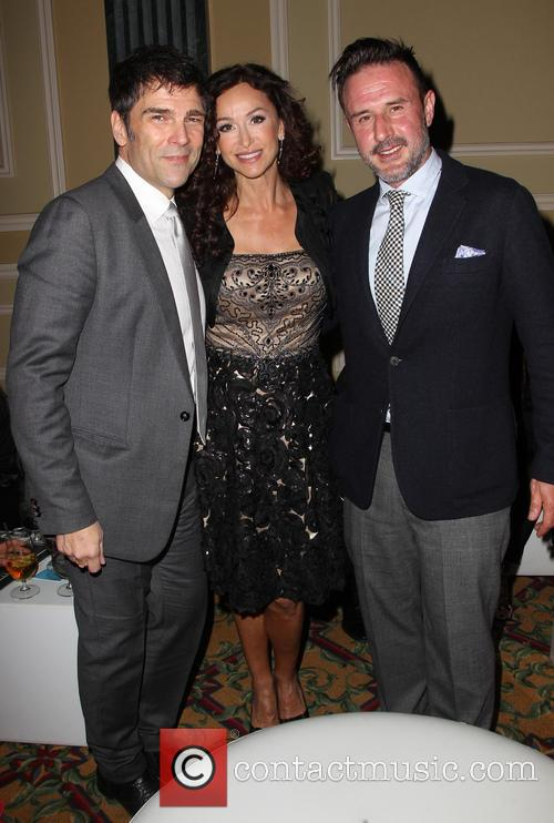 Sofia Milos and David Arquette 5