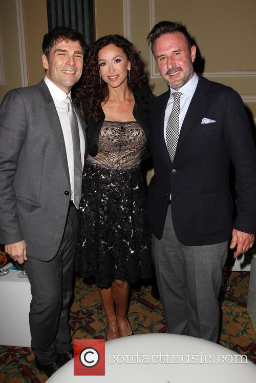 Sofia Milos and David Arquette 6