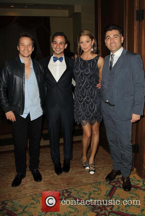 Travis Aaron Wade, Mayer Dahn, Kristen Renton and Guest 2