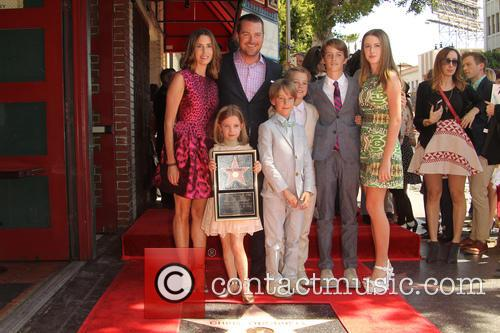 Caroline Fentress, Chris O'donnell, Lily Anne O'donnell, Finley O'donnell, Christopher O'donnell Jr., Maeve Frances O'donnell and Charles Mchugh O'donnell 2