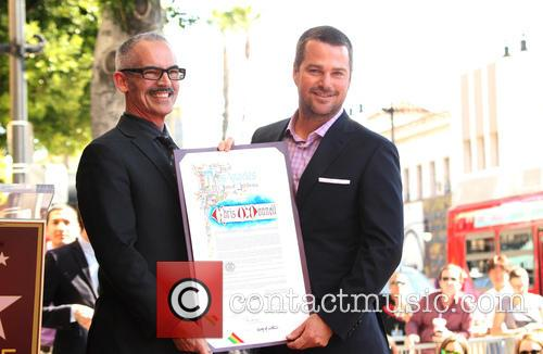 Mitch O'farrell and Chris O'donnell 2