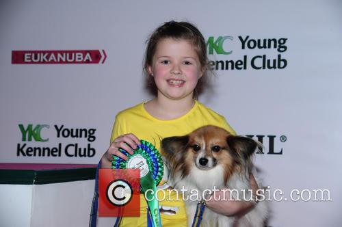 Grace Smith, Kai (papillon) and Under 12 Novice Freestyle Runner Up 2