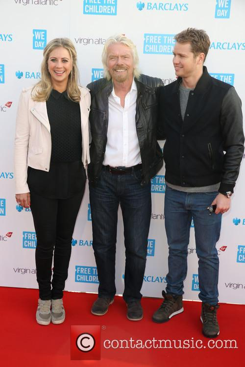 Holly Branson, Sir Richard Branson and Sam Branson