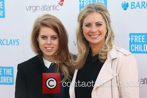 Princess Beatrice and Holly Branson 3