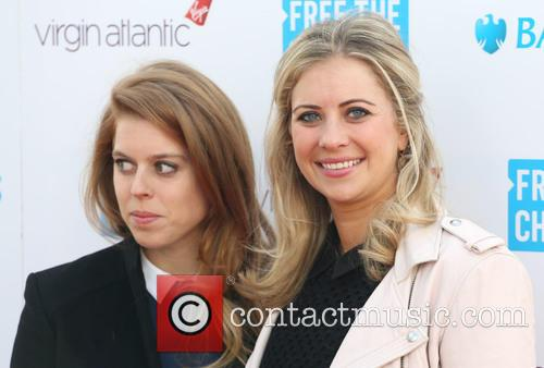 Princess Beatrice and Holly Branson 9