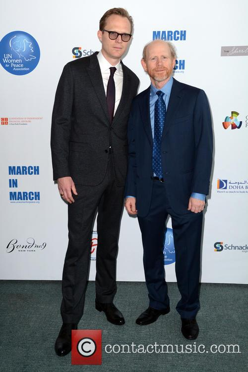 Paul Bettany and Ron Howard 9