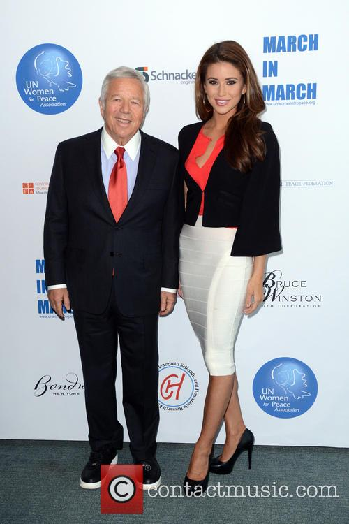 Robert Kraft and Nia Sanchez 2